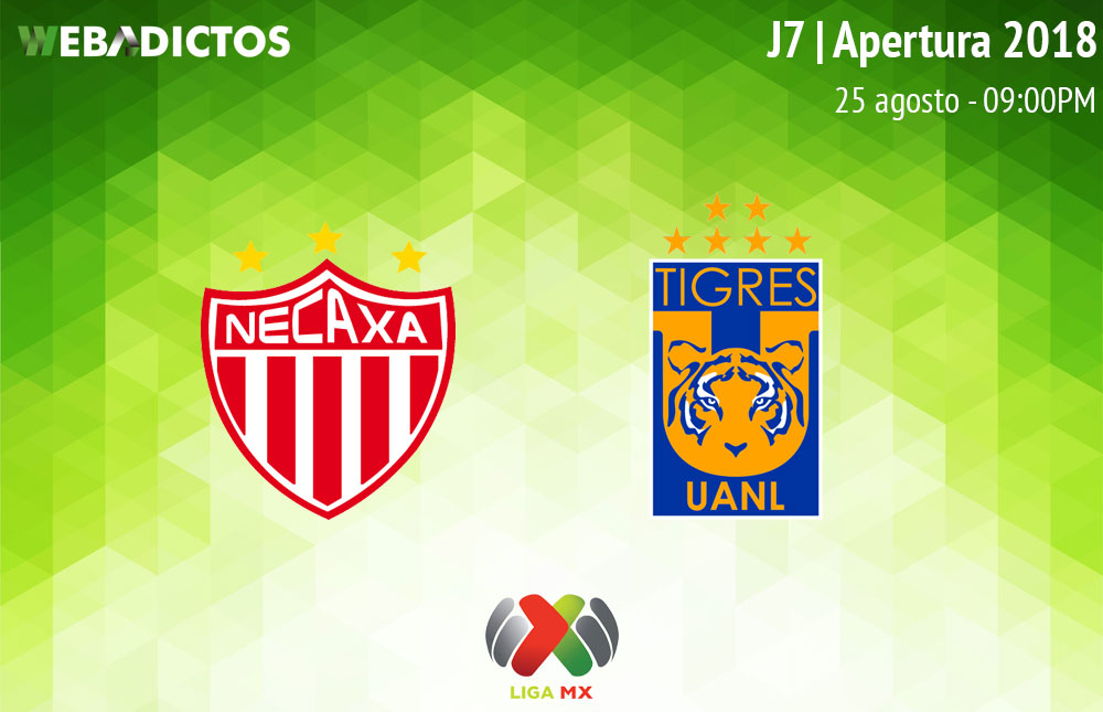 Necaxa vs Tigres, Jornada 7 del Apertura 2018 ¡En vivo por internet! - necaxa-vs-tigres-liga-mx-a2018