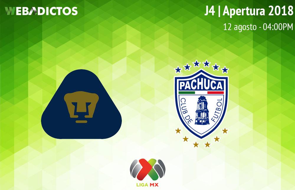 Pumas vs Pachuca, Jornada 4 del Apertura 2018 ¡En vivo! - pumas-vs-pachuca-apertura-2018