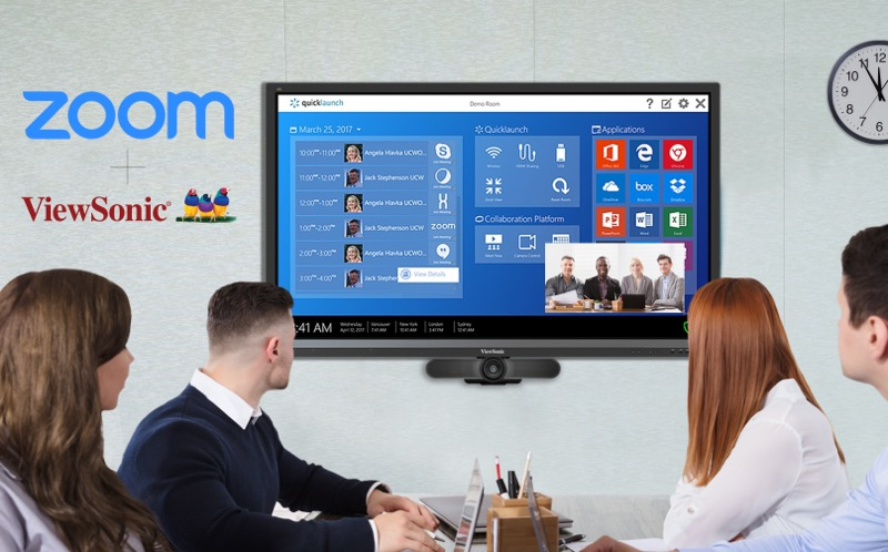 ViewSonic anuncia alianza con Zoom Video Communications - viewsonic-zoom-video-communications-800x498