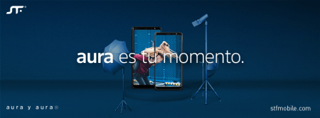 STF mobile lanza Aura y Aura Plus con sistema operativo Android GO