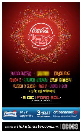 Coca Cola Flow Fest 2018: festival urbana más grande de México anuncia line up