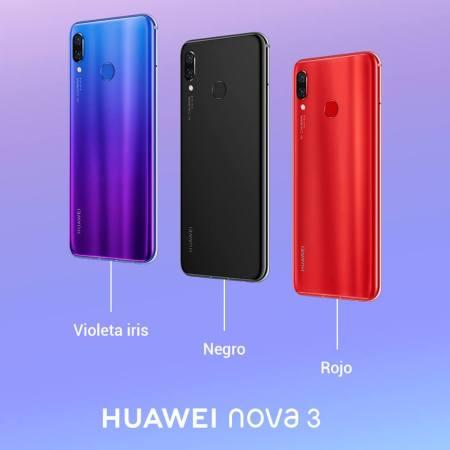 HUAWEI nova 3, revoluciona la forma de tomar selfies en máxima resolución - huawei-nova-3-colores-450x450