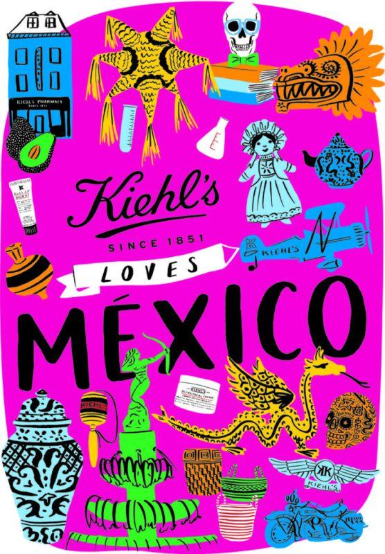 Kiehl's celebra la riqueza artesanal Mexicana con una edición limitada: Kiehl's Loves México 2018 - kiehls-loves-mexico-2018-556x800