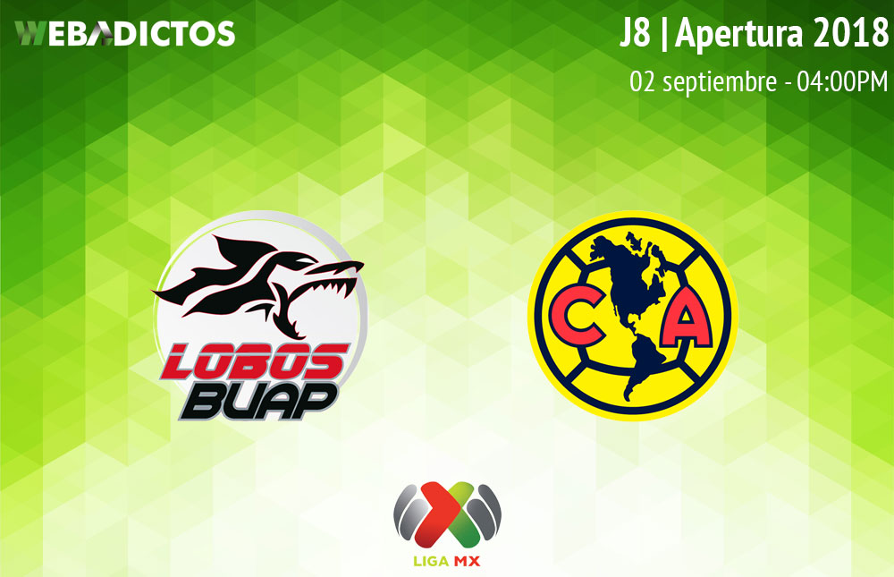 Lobos BUAP vs América, J8 de Liga MX A2018 ¡En vivo por internet! - lobos-buap-vs-america-apertura-2018