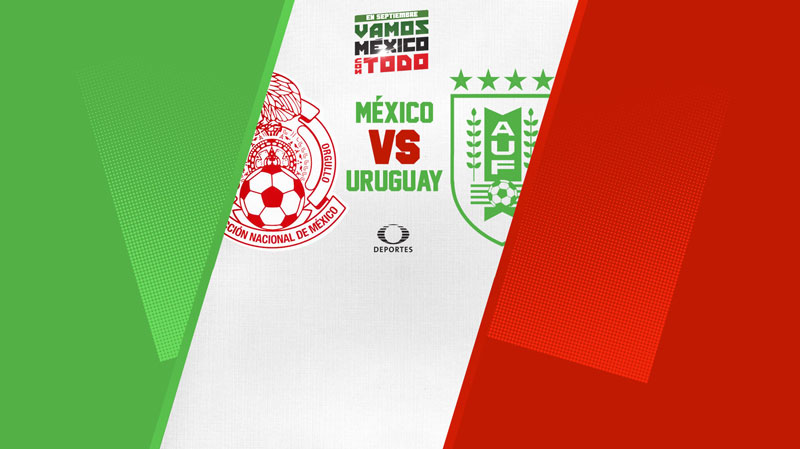 México vs Uruguay, Amistoso 2018 ¡En vivo por internet! - mexico-contra-uruguay-internet