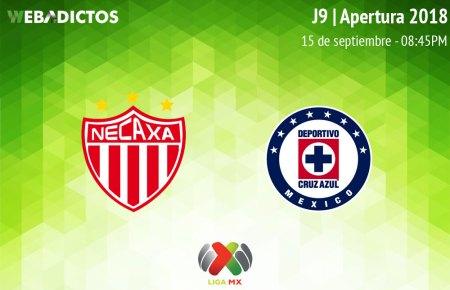 Necaxa vs Cruz Azul, J9 de la Liga MX A2018 ¡En vivo por internet!