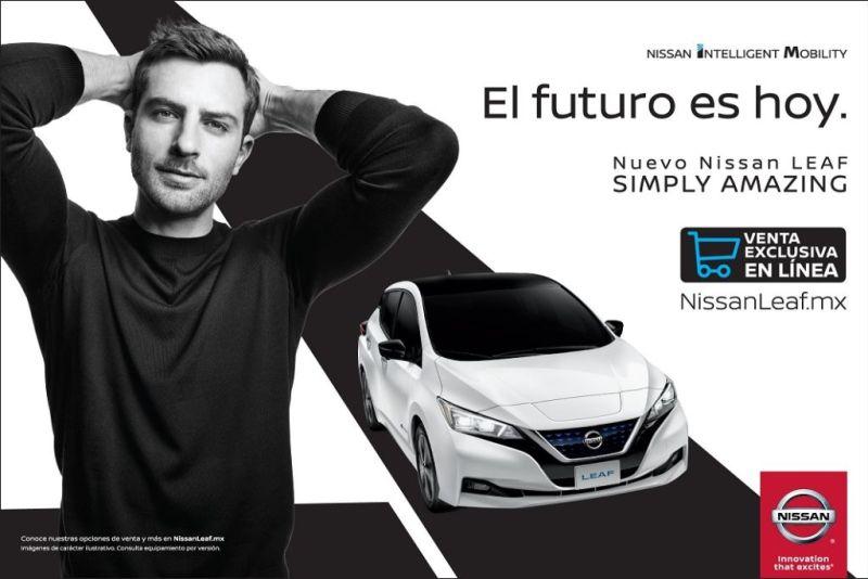 Nissan LEAF 2019, el primer vehículo que se venderá exclusivamente en línea - nissan-leaf-2019-800x534