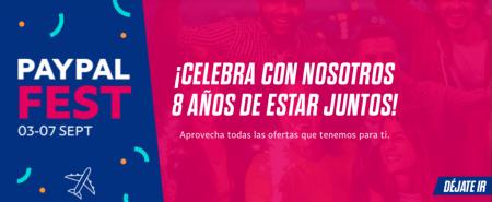 PayPal Fest ¡Conoce las ofertas y promociones por los 8 años de PayPal en México!