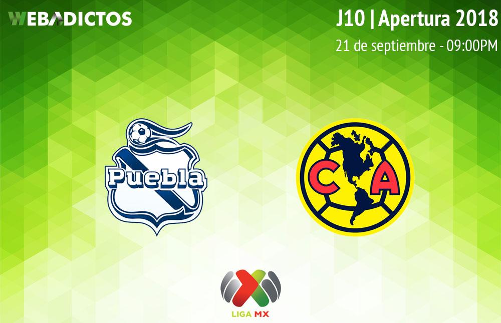 Puebla vs América, Jornada 10 Apertura 2018 ¡En vivo por internet! - puebla-vs-america-apertura-2018