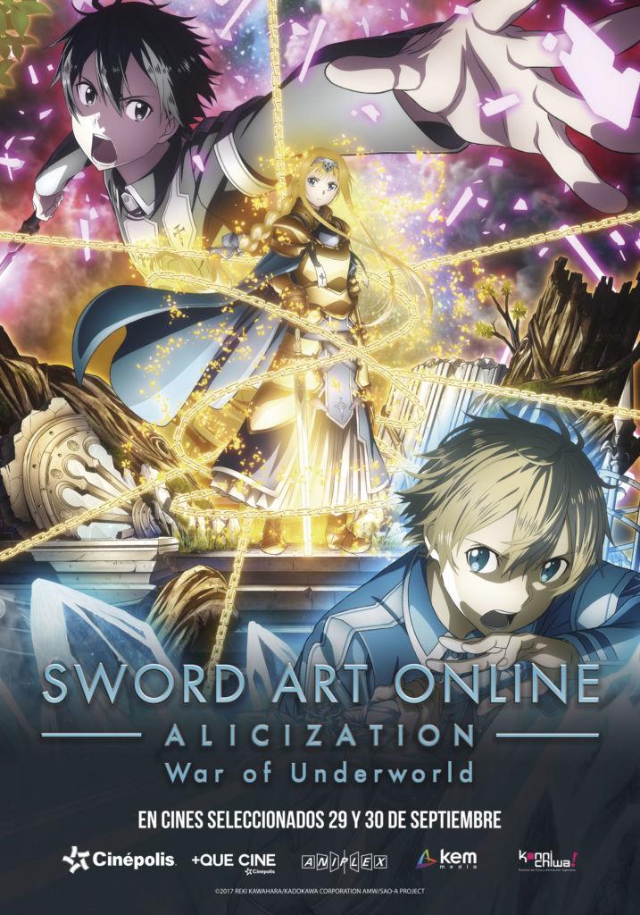 Cinépolis exhibirá el primer episodio de Sword Art Online antes de su estreno - sword-art-online