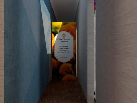 ¿Te imaginas dormir en una ofrenda convertida en alojamiento? Booking.com lo hace realidad - booking-dia-de-muertos18