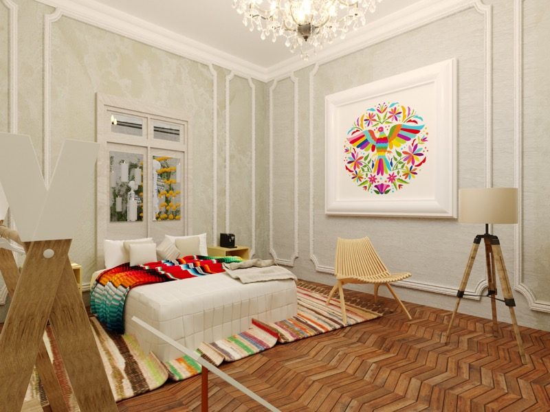 ¿Te imaginas dormir en una ofrenda convertida en alojamiento? Booking.com lo hace realidad - booking-dia-de-muertos4-800x600