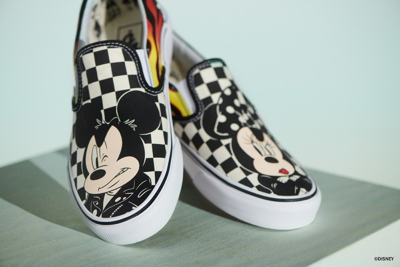zapatillas vans mujer mickey mouse