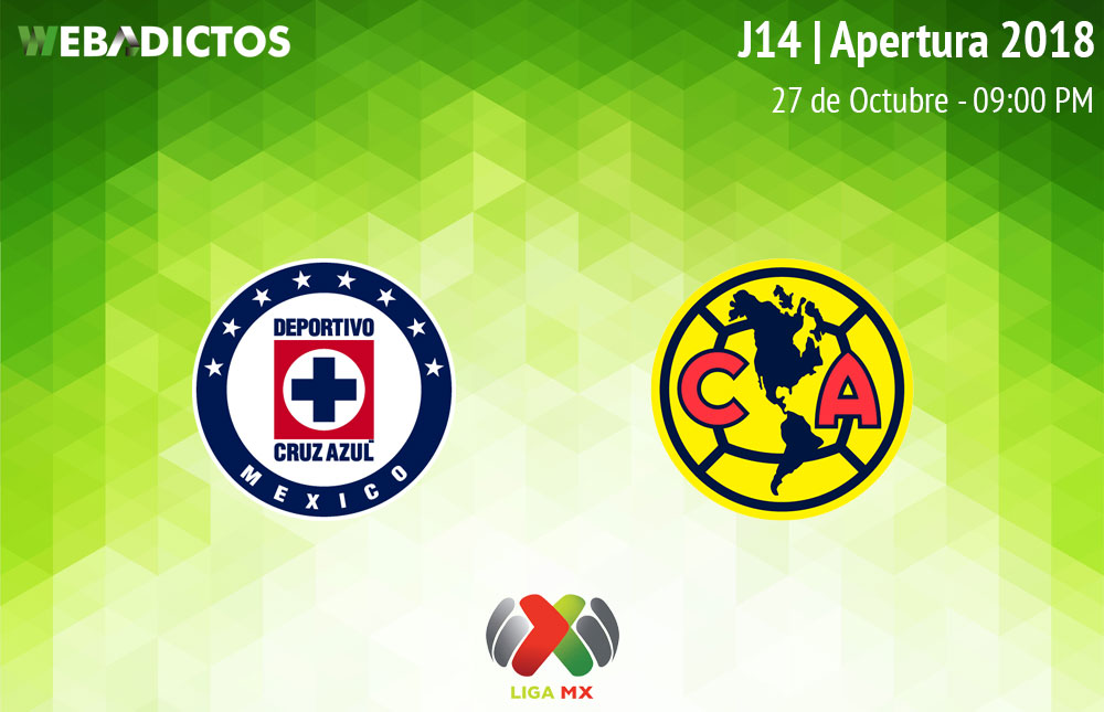 Cruz Azul vs América, Clásico joven A2018 ¡En vivo por internet! - cruz-azul-vs-america-apertura-2018