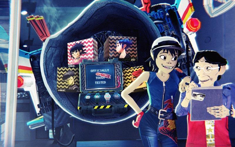 Mission M101, los episodios de la colaboración especial de G-SHOCK y Gorillaz - g-shock-y-gorillazstill-11-800x500