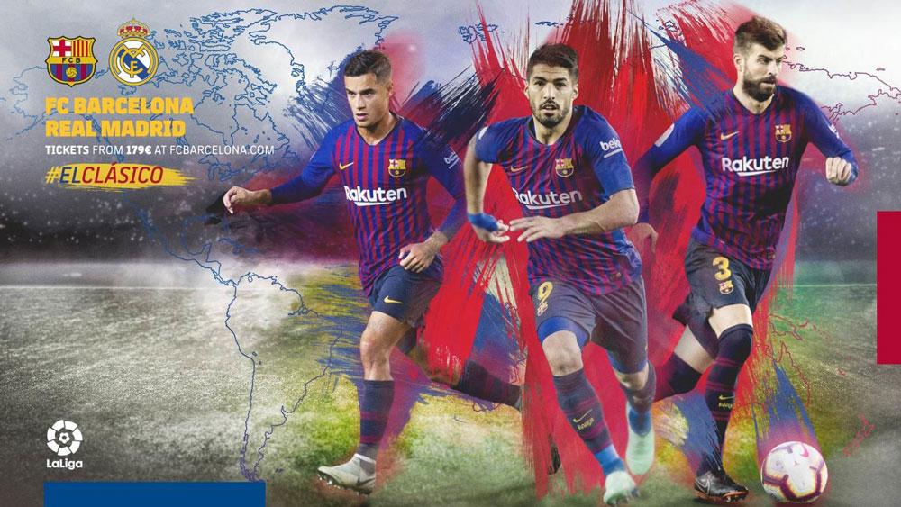A qué hora juega Barcelona vs Real Madrid El Clásico y dónde verlo este 28 de octubre - hora-barcelona-vs-real-madrid-octubre-2018