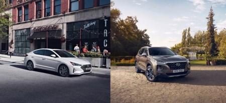 La totalmente nueva Hyundai Santa Fe y el renovado Elantra llegan a México
