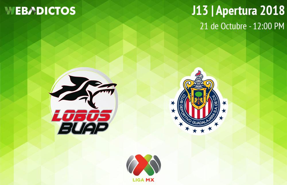 Lobos BUAP vs Chivas, J13 Apertura 2018 ¡En vivo por internet! - lobos-buap-vs-chivas-apertura-2018
