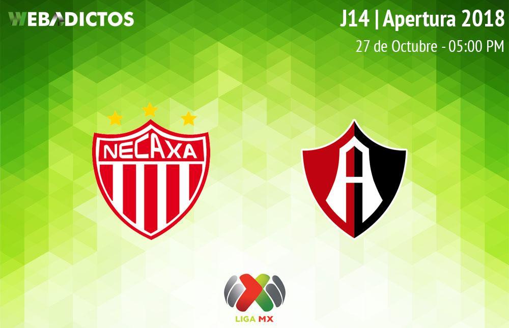 Necaxa vs Atlas, Jornada 14 del Apertura 2018 ¡En vivo por internet! - necaxa-vs-atlas-apertura-2018