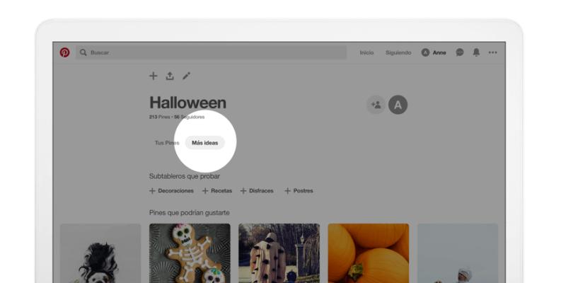 """Pinterest presenta la pestaña """"más ideas"""" - pestancc83a-mas-ideas-pinterest_1-800x400"""