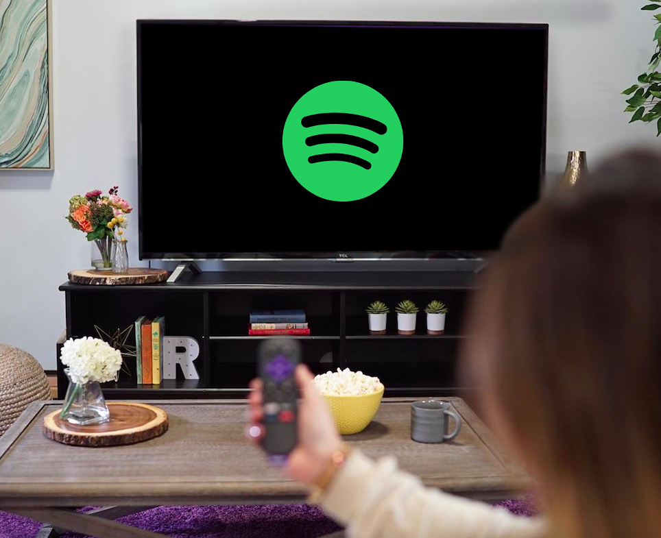 Spotify regresa a los reproductores Roku y Roku TV - spotify-tv