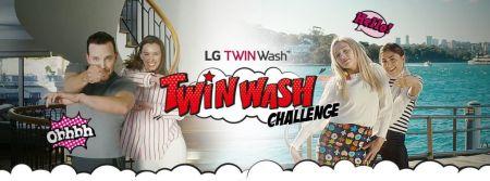 Se parte del Guinness World Record de LG con su campaña TWINWash Challenge