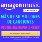 Ofertas de Amazon México tiene para ti en este Black Friday - amazon-music