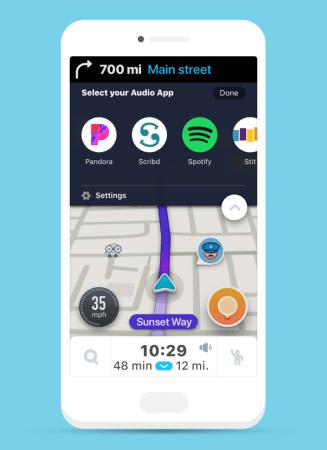 Waze Audio Player, una experiencia de conducción perfecta - audio_sdk_apps_2