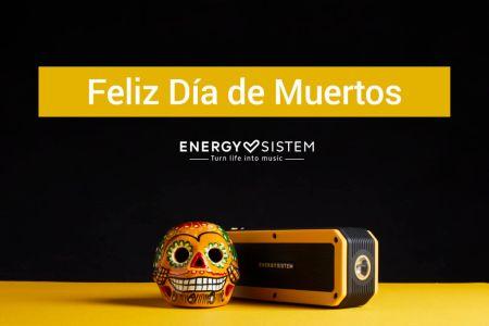 ¡El día de Muertos llegó de la mano de Energy Sistem!