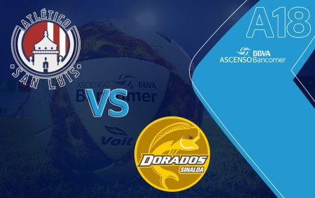Dorados vs San Luis, Final del Ascenso MX A2018 ¡En vivo por internet!