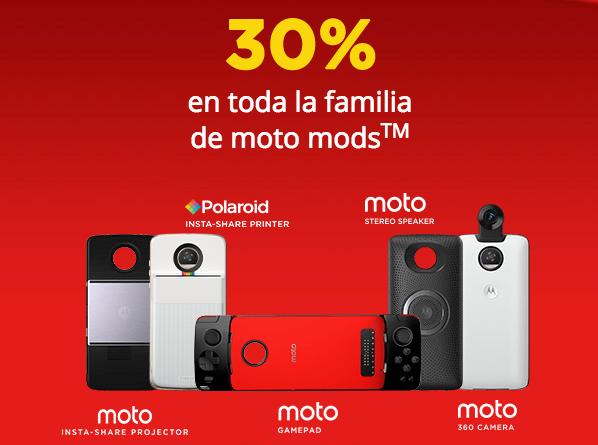 Oferta de celulares Motorola en el Buen Fin 2018 ¡Con increíbles descuentos! - oferta-de-motomod-motorola-en-el-buen-fin-2018