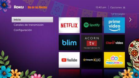 Roku lanza tema especial de Día de Muertos ¡personaliza tu TV!