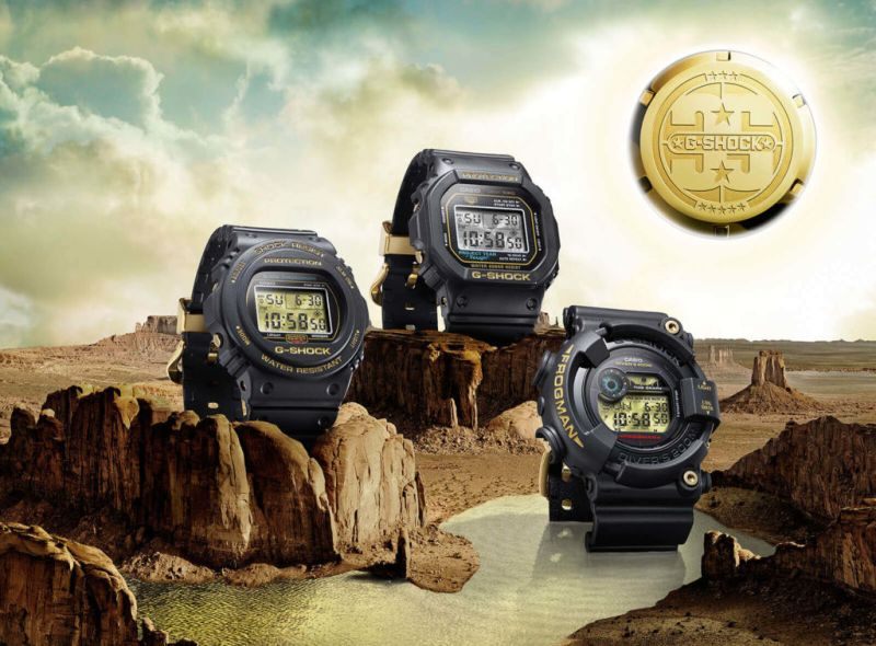 12 colecciones que marcaron el Tiempo de G-SHOCK - 35-aniversario-origin-gold-800x590
