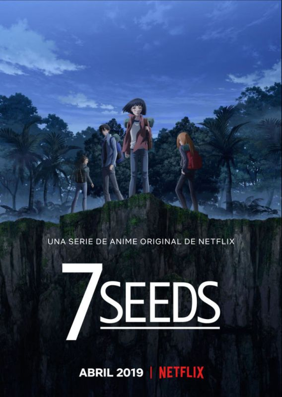 Los contenidos destacados Anime 2019 en Netflix - 7seeds-568x800