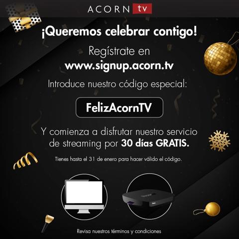Acorn TV, ¡totalmente GRATIS durante 30 días! - acorn-tv-gratis