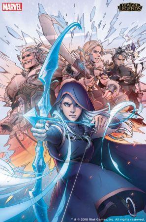 Ya es posible descargar la primera edición del cómic de Marvel y Riot Games