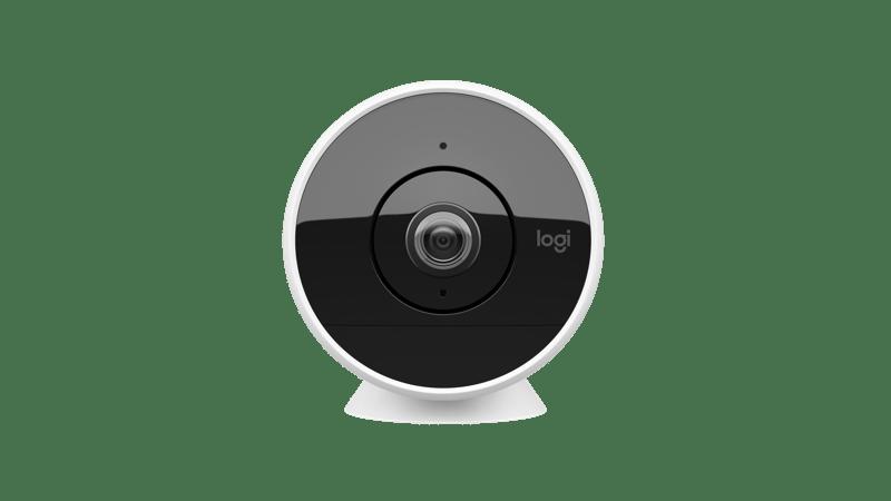 Circle 2, cámara de seguridad sin cables diseñada para vigilar dentro y fuera de la casa - camara-de-seguridad-circle-2-logitech-800x450