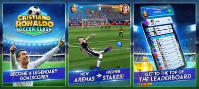 Lanzan juego de fútbol oficial Cristiano Ronaldo: Soccer Clash! - cristiano-ronaldo-soccer-clash
