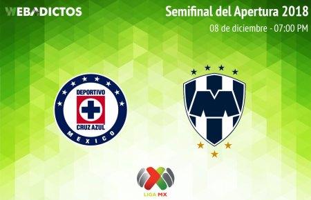 Cruz Azul vs Monterrey, Semifinal del A2018 ¡En vivo por internet! | Vuelta