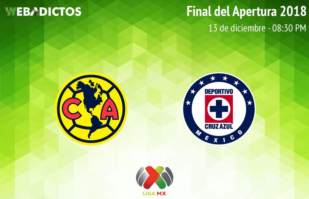 América vs Cruz Azul, Final de Liga MX A2018 ¡En vivo por internet! - final-america-vs-cruz-azul-apertura-2018