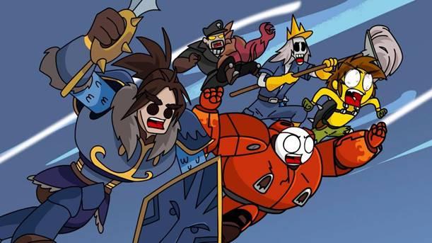 "Episodio ""Heroes of the Storm"" de la serie animada Vete a la Versh ¡ya disponible! - heroes-of-the-storm-vete-a-la-versh"