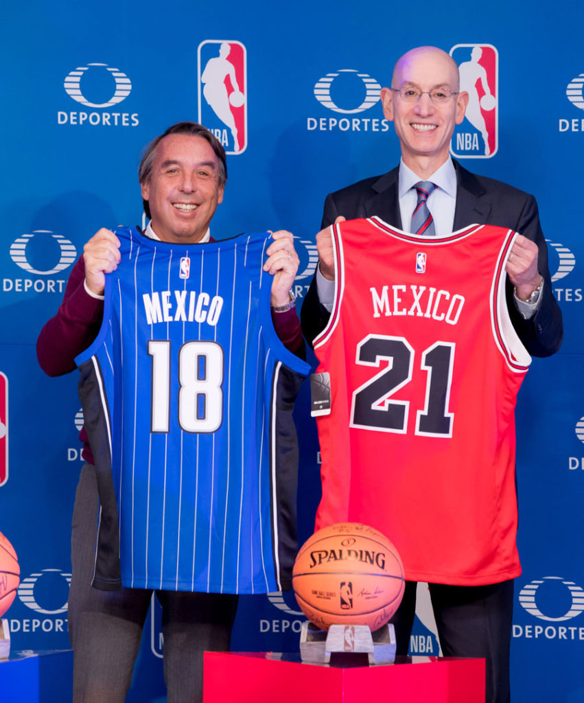 México podría tener equipo de la NBA League