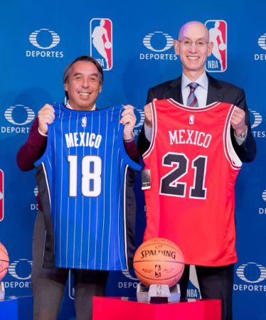 Juegos de la NBA seguirán transmitiéndose en México por Televisa