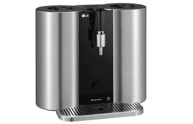 LG crea máquina para preparar cervezas artesanales a través de cápsulas - lg-homebrew-001-800x513