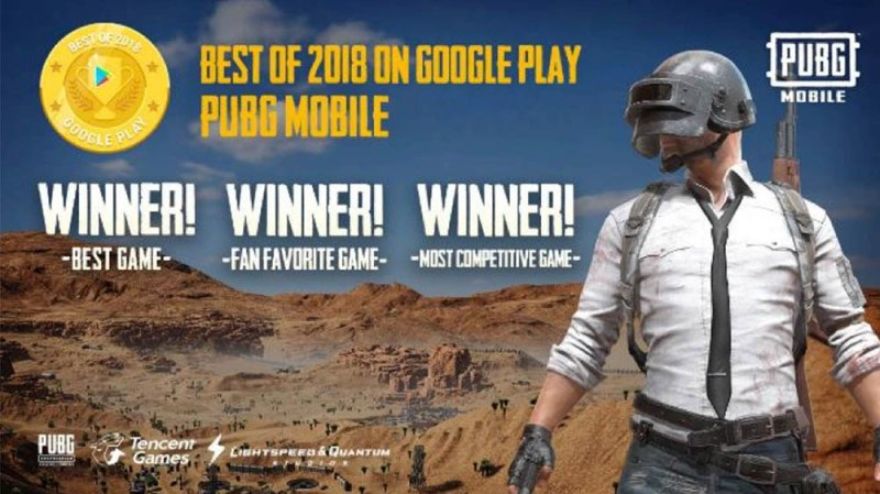 PUBG MOBILE reina en los Google Play Awards y es nombrado Best Game 2018 - premios_1-800x449