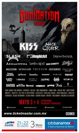 Cartel oficial del Festival DOMINATION
