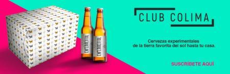"""""""Club Colima"""", cervezas experimentales, de temporada o edición limitada a la puerta de tu casa"""