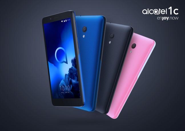 CES 2019: TCL presenta oficialmente su nueva serie de smartphones Alcatel 1 - ces19_alcatel-1c