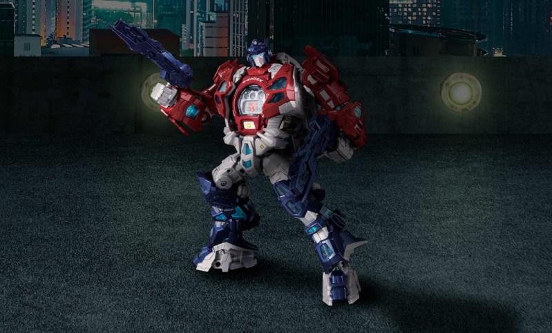 G-SHOCK en colaboración con TRANSFORMERS presenta un modelo épico del icónico Optimus Prime - g-shock-x-transformers_3