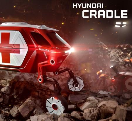 """Hyundai presentará en el CES 2019 el innovador concepto """"Hyundai 'Elevate' Walking Car"""""""